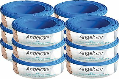 Sangenic  Angelcare Nappy Bin Refill Cassettes for nappy disposal bin Pack of 12