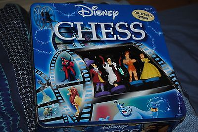 Disney Collectors Edition Chess Set