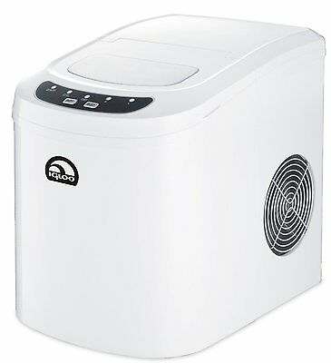 iGloo ICE102C-WHITE Portable Countertop Compact 2.3 Qt Ice Maker w/ LED controls