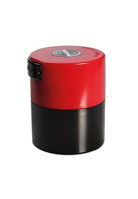 Red TIGHTVAC Vacuum Jars Smell Proof Airtight Container Storage Food Herbs
