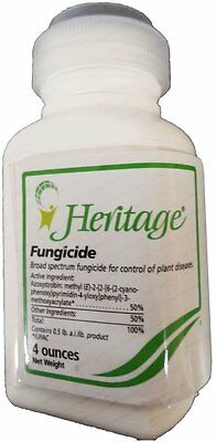 Syngenta Heritage DF 50 Systemic Fungicide 4 oz Bottle