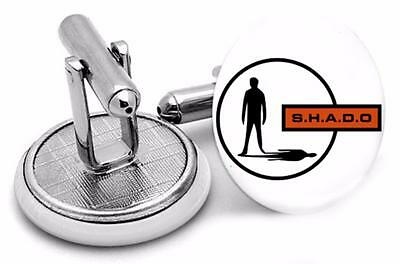 SHADO - Mens Retro Cufflinks UFO Sci Fi Gerry Anderson TV Show