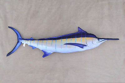 New fish pillow MARLIN stuffed novelty fish cushion pillow soft toy - 132 cm
