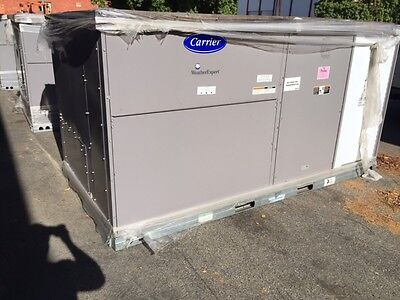 Carrier 10 Ton 21 Eer Ultra High Efficiency Package Unit Gas/elec 230V 3Ph 48Lcf