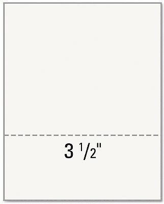 """Printworks Professional Office Paper Perforated 3-1/2"""" From Bottom 8-1/2 x 11"""