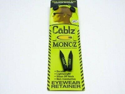 CABLZ Sunglasses Glasses Holder MONOZ Adjustable ZIPZ Yellow Eyewear Retainer!