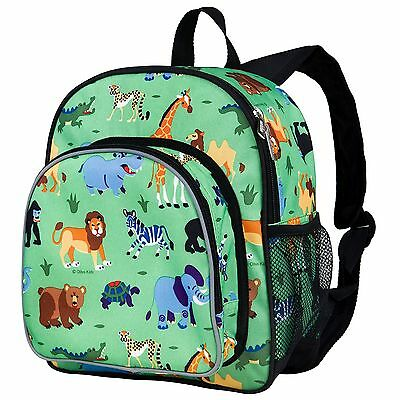 Olive Kids Wild Animals Pack 'n Snack Backpack Boys Child Small