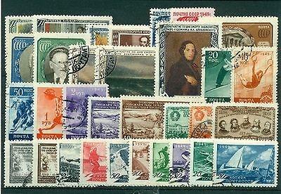 Russie - USSR  1949/51 -  Lot d'environ 30 timbres - SU081