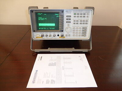 Agilent / HP 8560E 30Hz - 2.9GHz Spectrum Analyzer with Tracking Generator CAL'D