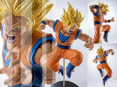 Dragon Ball Z DBZ SCultures Super Saiyan 2 Son Goku Figure Figurine New No Box