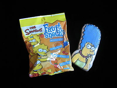 The Simpsons - Wrapped And Sealed Cookie - Fruit Snacks - 2008