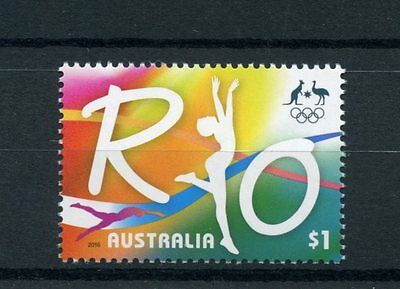 Australia 2016 MNH Road to Rio 2016 Olympic Summer Games 1v Set Olympics Stamps