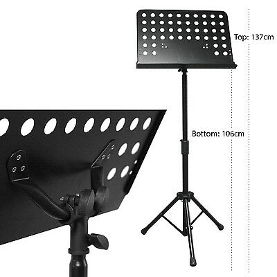 Boost Industries Premium Height Adjustable Telescopic Orchestra Music Stand