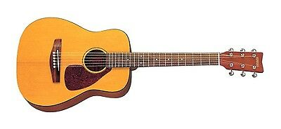 Yamaha JR1 Folk Acoustic Guitar (Natural Finish). FG-Style 3/4 Compact Guitar