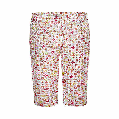 50% OFF New Calvin Klein Check Pedal Pushers Womens Ladies Golf Trousers