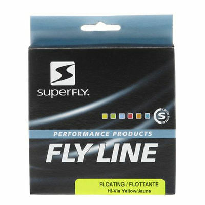 Superfly Fly Line Wf 7 Coda Di Topo Galleggiante Floating Giallo Pesca A Mosca