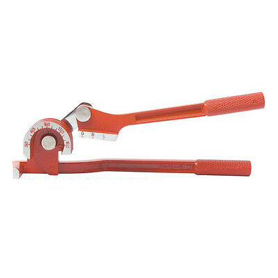 "Copper Tube Pipe Bender 1/4"" 5/16"" 3/8"" O.D 180° Red Tubing Tool"