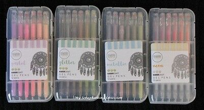 Kaisercraft 'KAISERcolour GEL PENS' (Choose from 4 Packs) Colouring KAISER