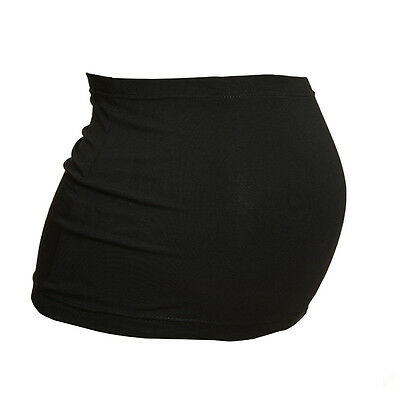Plus Size Maternity BellyBand/Bump Band by Harry Duley. Black Cotton. Made in UK