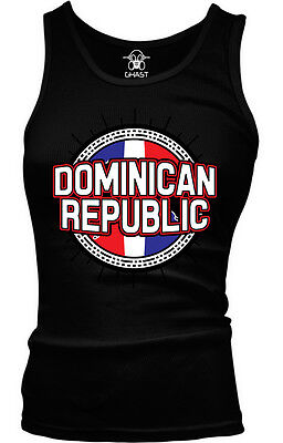 Dominican Republic Flag Ball Born From Country Outline Team Men/'s V-Neck T-Shirt