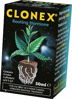 CLONEX Rooting Hormone Gel 50ml -  1 Bottle W0RLDWIDE  /wow!  1 x 50 ml