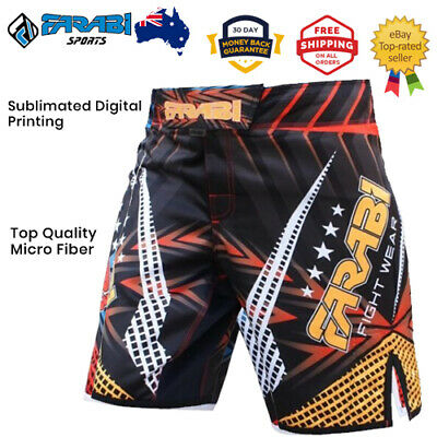 MMA Boxing Shorts Grappling Cage Fight Training Kick Boxing