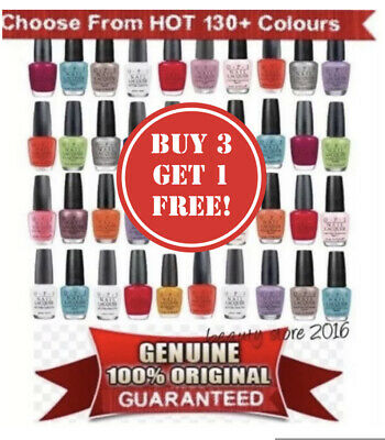OPI Nail Polish/Lacquer/Varnish 15ml✅100% AUTHENTIC ✅ALL 130+ COLOURS✅UK SELLER✅