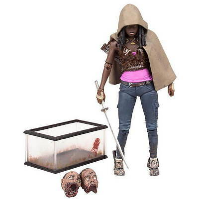 WALKING DEAD TV Version MICHONNE FLASHBACK EXCLUSIVE 15cm Figur NEU+OVP The