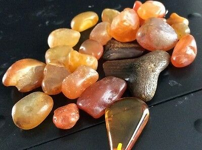 Antique Baltic Amber Stones 35 Grams.