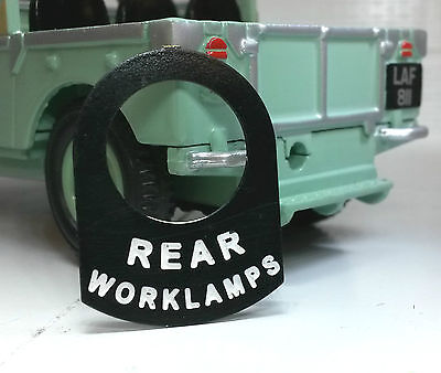 Classic Tractor Lucas Toggle Switch Badge Decal Label Rear Worklight Worklamp