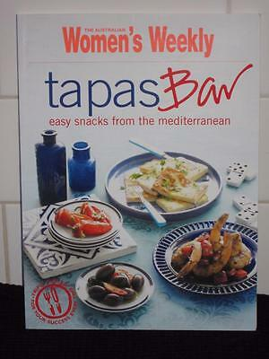 Aust Womens Weekly Cookbook Tapas Bar  Cookery Recipes Free Post