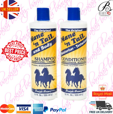 Mane N Tail Original Conditioner and Shampoo in a pack 12oz (355ml each)