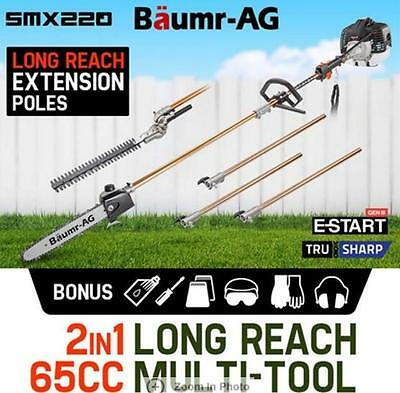 65cc Pole Chainsaw Hedge Trimmer Pruner Chain Saw Hedge Trimmer Pruner Chain Saw