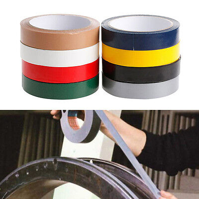 New Duct Gaffa Gaffer Waterproof Self Adhesive Repair Bookbinding Cloth Tape
