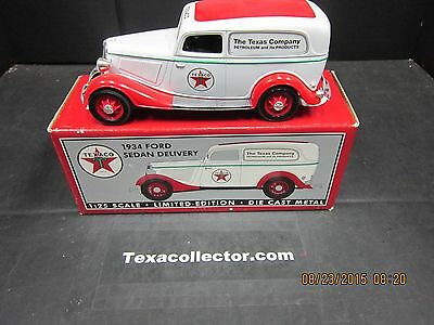 Texaco 1934 Ford Sedan Delivery by Spec Cast