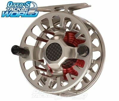 Ross F1 Fly Fishing Reel (Nickel Silver) BRAND NEW at Otto's Tackle World