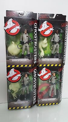 2016 Ghostbusters Classic Series Action Figure Lot Of 4 Walmart Exclusive