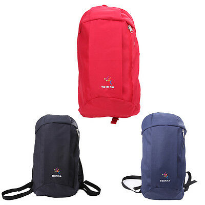 10L Unisex Canvas Casual Backpacks Small Portable Gym School Sport Backpack