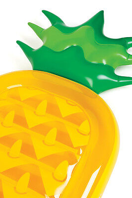 SunnyLife Luxe Lie-On Inflatable Pineapple Extra Large Inflatable Beach Pool ...
