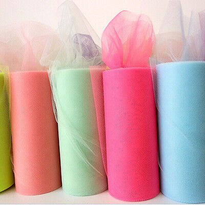 Crystal Organza Tulle Roll Fabric Wedding Birthday Party Decorations Supplies
