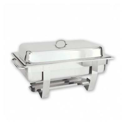 Chafer / Chafing Dish, Fuel Heated, 1/1 Food Pan, Stackable, Buffet Warmer NEW