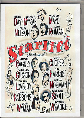 Starlift - Doris Day & Randolph Scott And May Other Great Stars  All Region Dvd