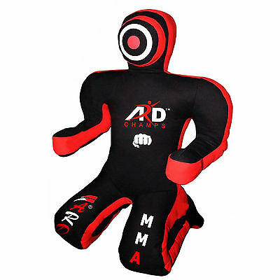 ARD CHAMPS™ Canvas Grappling Dummy Boxing Punch Bags MMA Kick Kneeling Dummies