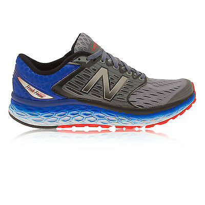 New Balance M1080V6 Hommes Gris Bleu Amorti Running Route Chaussures 4E Largeur