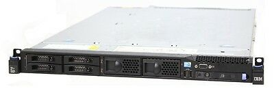 IBM System x3550 M3 Server // 2x E5530, 8 GB, ServeRAID BR10iL, 2x PSU