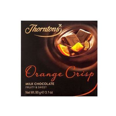 Thorntons Orange Crisp Chocolate Block (90g)
