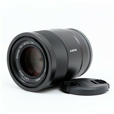 Sony Sonnar T* FE 55mm f/1.8 ZA Carl Zeiss Lens BRAND NEW | MPN: SEL55F18Z