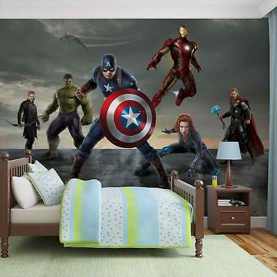 WALL MURAL PHOTO WALLPAPER XXL Marvel Avengers Formation (3362WS)