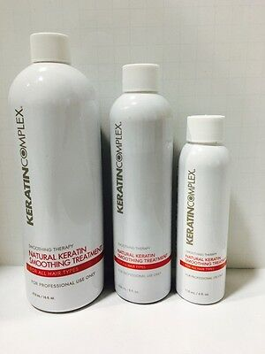 Keratin Complex  Natural Keratin Smoothing Treatment - You Choose Size!