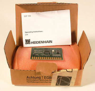 Heidenhain Interpolation & Digitizing PCB   IDP 110   ID# 318 277-01